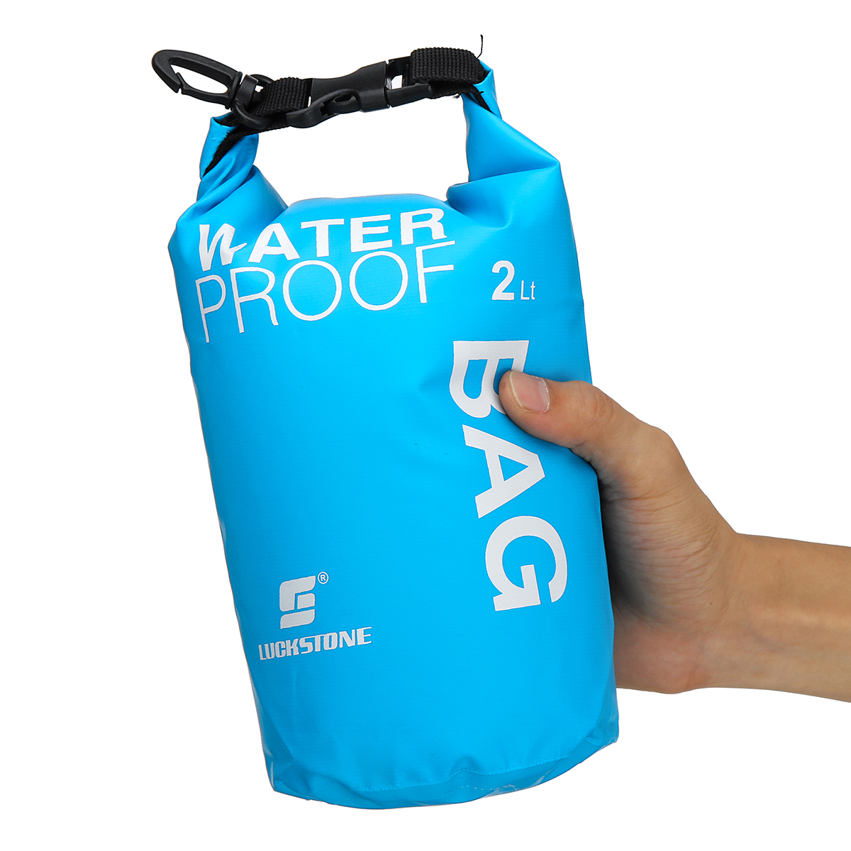 2L PVC Waterproof Dry Sack Bag Storage Backpack Pouch Camping Swimming Outdoor Mobile Phone Camera SLR Waterproof Bag