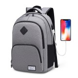 Anti-theft USB Interface Backpack 15.6 Inch Laptop Notebook Large Capacity Back Pack Waterproof School Bag Shoulder Bag