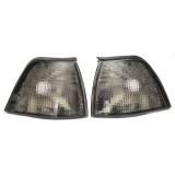 2Pcs Smoke Lens Side Corner Light Sidelights For BMW E36 3-Series 4DR 92-98