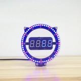 SSY DIY Creative Clock Kit Night Light Clock Electronic Education Kit Digital Tube Set