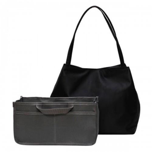 2 Pcs Nylon Baby Diaper Bag Set Camping Travel Mummy Bag Portable Women Shoulder Bag Handbag