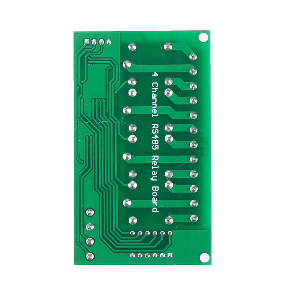 4 Channel RS485 Relay Module Modbus RTU AT Command Remote Control Switch for PLC PTZ Smart Home Security DC 12V