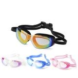 Swim Goggles Adult Waterproof Anti-Fog UV Protect Swimming Diving Glasses W/ Box
