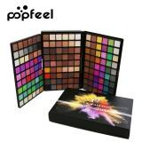 POPFEEL 162 Color Eye Shadow Pearl Matte Earthy Color Makeup Eye Shadow Palette To Modify Eye Makeup