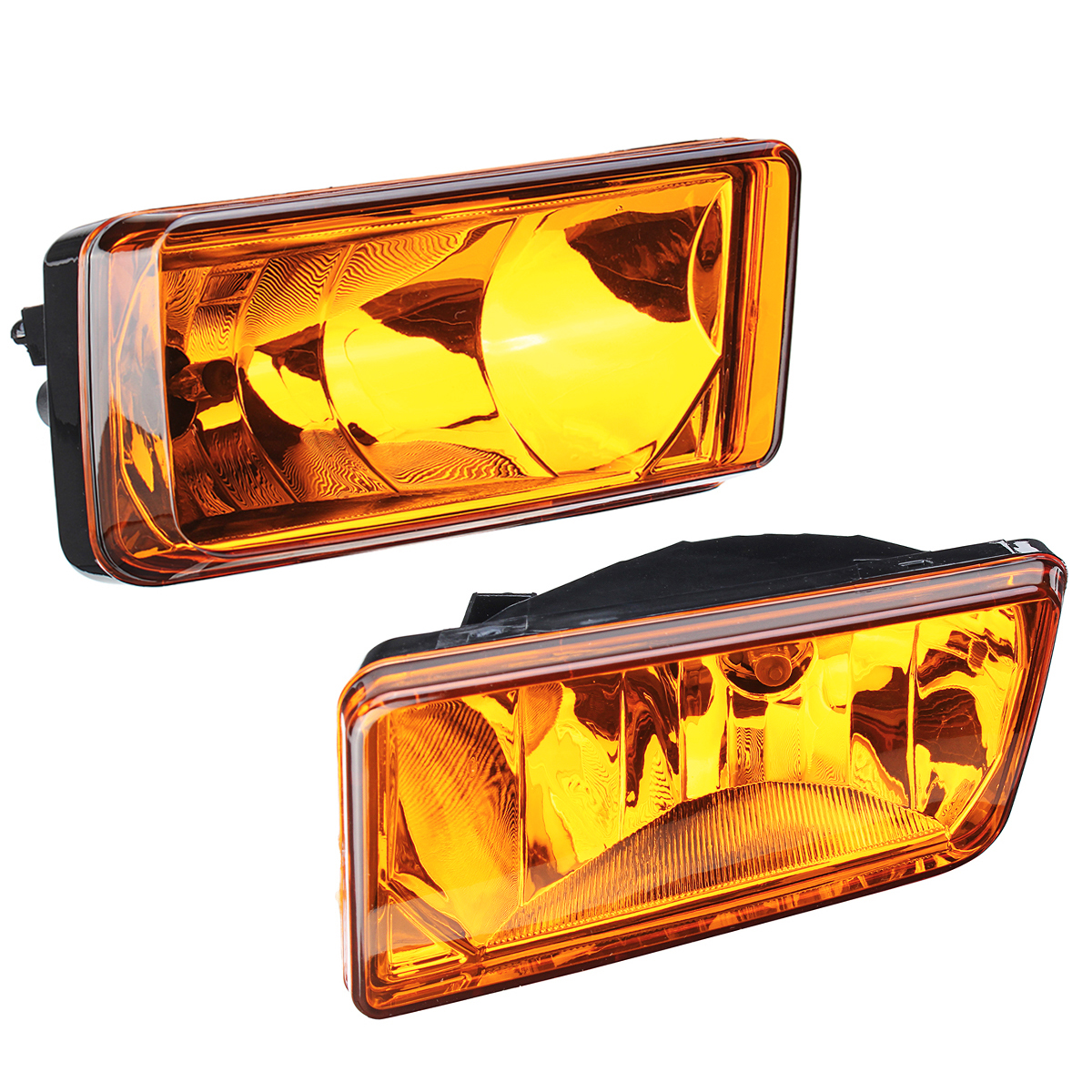 Pair Car Front Fog Lights For Chevy Silverado Tahoe Suburban 07-14 Clear/Amber/Smoke