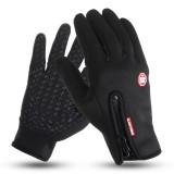Men Women Full Finger Skiing Gloves Touch Screen Winter Warm Fleece Motorcycle Cycling Sports Windproof Waterproof Thermal