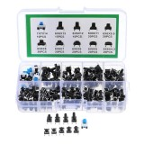 900Pcs 10 Values Tactile Push Button Switch Mini Momentary Tact Assortment Kit DIY