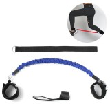 30/40LB Legs Resistance Pull Rope Exercise Tools Expander Strength Fitness Bands