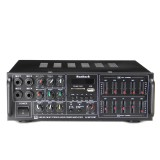326BT 2000W bluetooth Stereo Audio Power Amplifier Dual Channel USB SD FM FM Radio EQ with Remote Control 220V-240V for Home