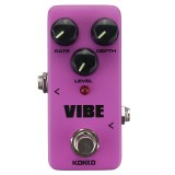 Flanger KOKKO FUV2 VIBE MINI Guitar Pedal Effects DC 9V 300MA True Bypass Pedal Effects