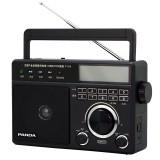 Panda T-19 FM AM SW DSP Digital Tuning Full Band Radio Support Radio Recording Alarm Clock TF Card MP3 Music Player