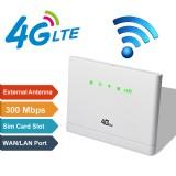 3G/4G-CPE LTE Wireless Router 300Mbps Mobile Hotspot Modem SIM Card Slot Hot 3/5 Modes
