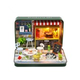 DIY Assembled Cottage Summer Theater Kids Toys Birthday Gift Doll House