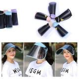 UPF50+ Foldable Polarized Sun Visor Outdoor UV Protection Sun Hat Hiking Climbing Protective Hat