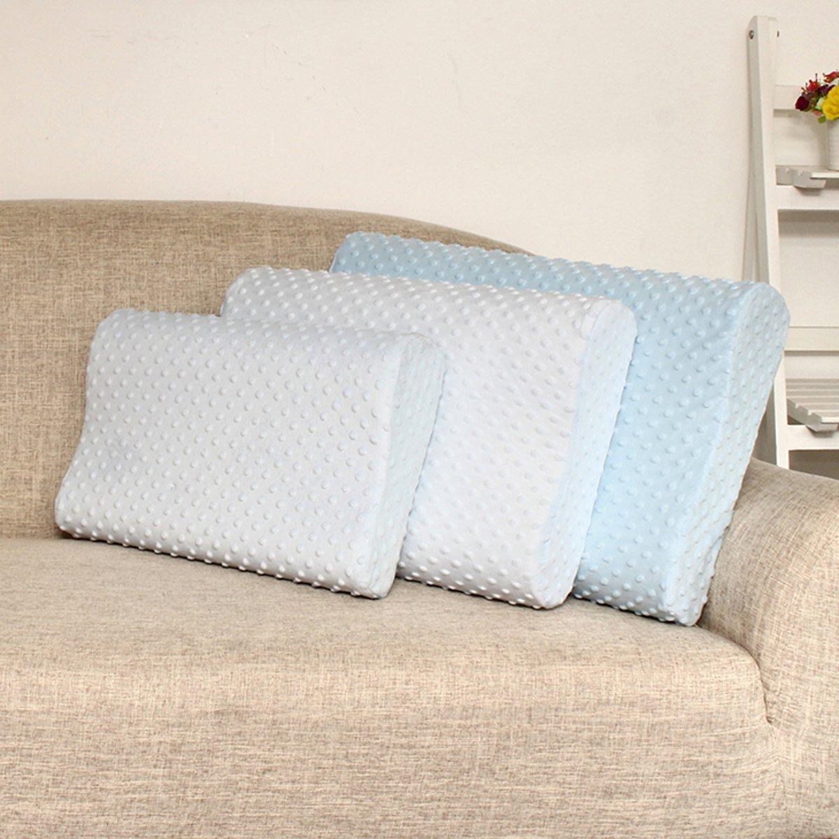 Memory Foam Slow Rebound Contour Neck Pillow Sleep Care Bed Home Travel Pillow Health
