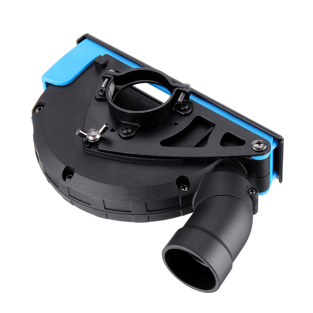 Drillpro Universal Surface Cutting Dust Shroud For Angle Grinder 4 Inch to 5 Inch Dust Collector Attachment Cover Tool