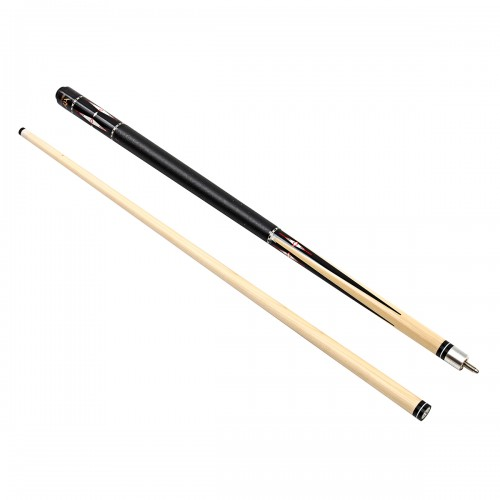 2 Pcs 1/2 Design 58'' Wood Jointed Stick Snooker Rod Billiard Cue Rack Snooker Pole