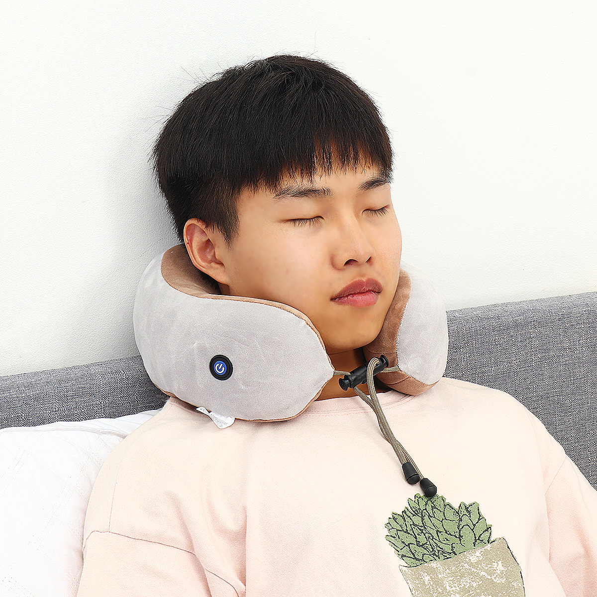 U Shade Pillow Electric Massage Neck Support Vibrating Kneading Charging Neck Pillow