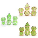 7Pcs/Set Zinc Alloy Polyhedral Dices Role Playing Games Accessories DND Dices