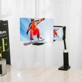 "12"" Folding Mobile Phone Screen Magnifier 3D HD Screen Amplifier Stand Bracket"