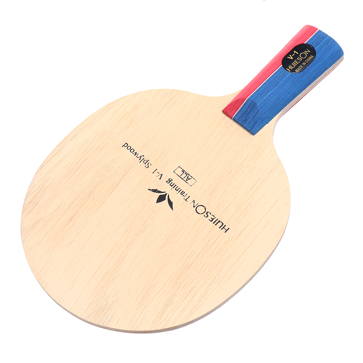 1 Pcs FL/CS Table Tennis Racket 5-layer Pure Wood Training Table Tennis Floor Horizontal Racket Direct Racket