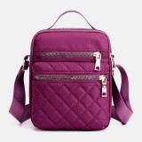 Women Large Capacity Multi-Pocket Waterproof Handbag Shoulder Bag Crossbody Bag