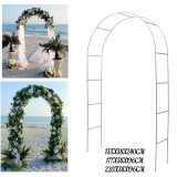 Iron Arch Way Assemble Door Wedding Party Bridal Prom Garden Floral Wedding Flower Decorations