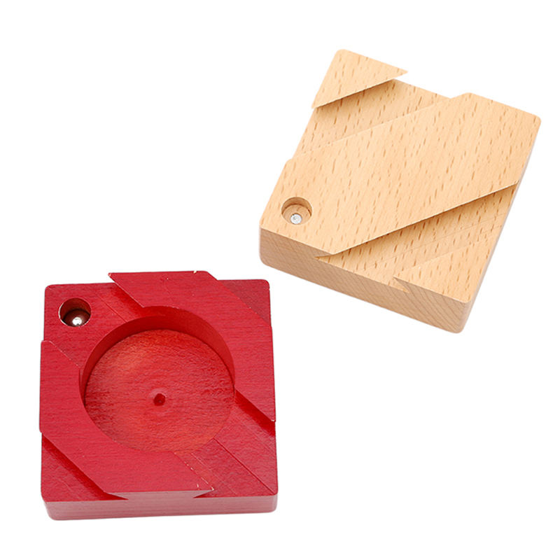 Wooden Magic Box Puzzle Game Luban Lock Jigsaw Puzzle Toy for Children Adult Educational Toys Brain Teaser Game