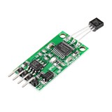 5pcs DS18B20 5V TTL Com UART Temperature Acquisition Sensor Module Modbus RTU PC PLC MCU Digital Thermometer