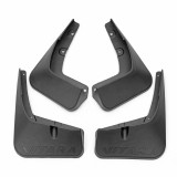 4Pcs Car front and Rear Mudguards Splash Flaps Mud Flaps For SUZUKI VITARA 2015-2017