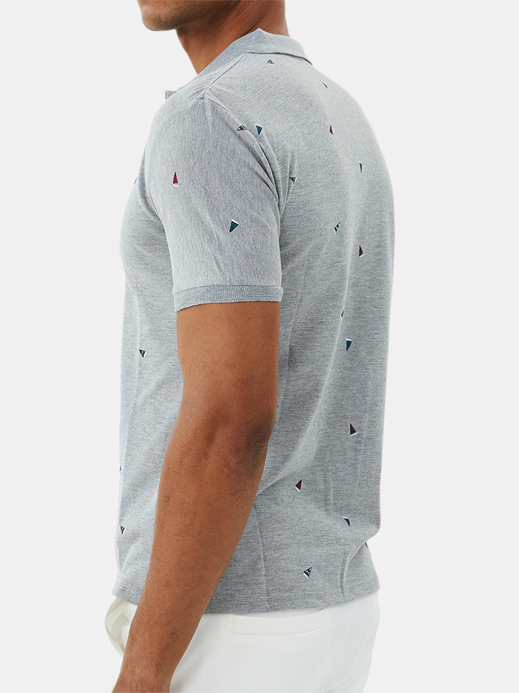Mens Fashion Printing Breathable Short Sleeve Summer Casual T-Shirts
