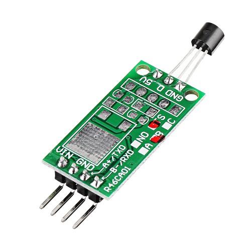 3pcs DS18B20 12V RS485 Com UART Temperature Acquisition Sensor Module Modbus RTU PC PLC MCU Digital Thermometer