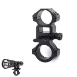 Weltool Adjustable Flashlight Holder Torch Light Mount Clamp Clip Flashlight Accessories For Weltool PM2/PM3/PM23