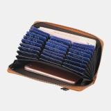Baellerry Women RFID Blocking Long Wallet Card Holder Zipper Clutches Bag