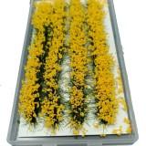 28Pcs Mini Flower Cluster Glass Miniature Model DIY Scenery Landscape Sand Table Decorations