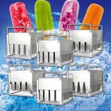 40pcs Stainless Steel DIY Molds Mold Ice Lolly Popsicle Ice Cream Stick Holder
