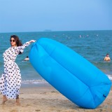 Inflatable Lazy Sofa Camping Beach Sleeping Sofa Bag Air Mattresses