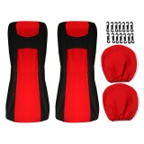 4PCS Front&Rear Car Seat Covers Full Seat Cover Cushion Protectors Universal