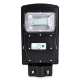 20W Waterproof Solar Street Light Outdoor without Mounting Pole,Light Control + Radar Sensor Solar Floodlight Security Wall Lamp