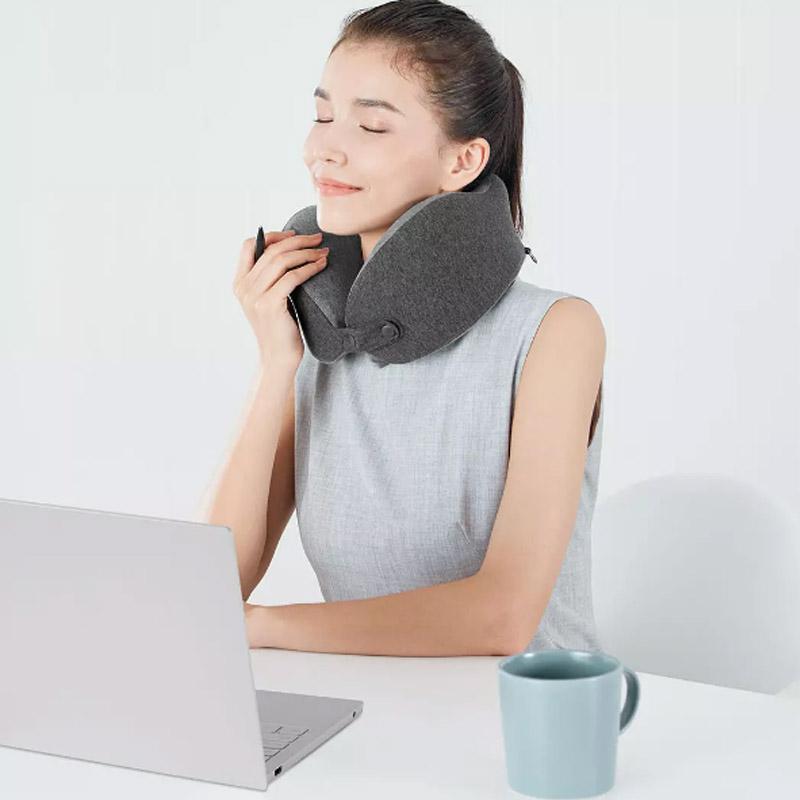 Xiaomi Lefant U Shape Pillow Memory Foam Neck Pillow Travel Airplane Car Head Neck Support Office Nap Pillows