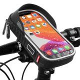 WEST BIKING 6inch Bicycle Phone Holder Waterproof Phone Bag Storage Bag Bike Holder