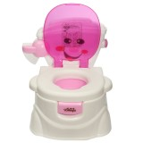 2 in 1 Kids Baby Toilet Trainer Training Children Toddler Potty Seat Chair Potties