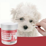 100pcs/Set Pet Eye Wet Wipes Dog Cleaning Paper Towels Eyes Wet Wipes Tear Stain Remover Gentle Wet Tissue Pet Health Grooming Supplies
