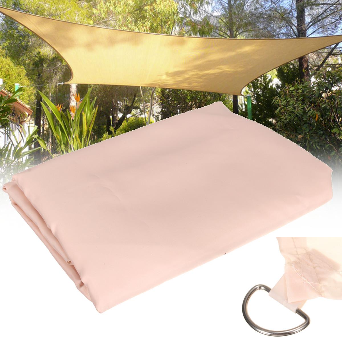 2MX2M Patio SunShade Sail Shelter Net Outdoor Garden Car Cover Awning Canopy Patio