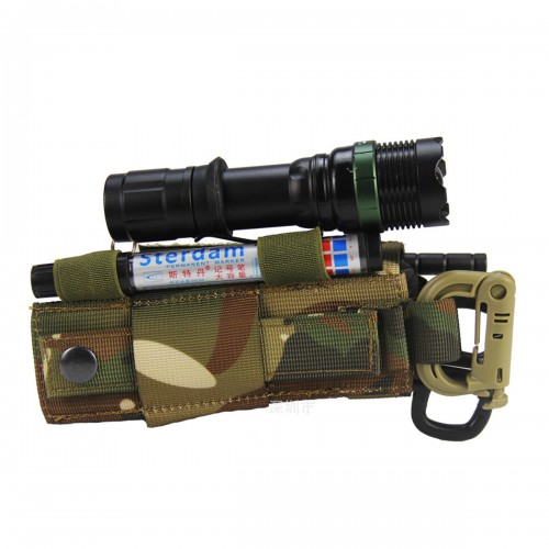Outdoor Nylon Tactical Bag Flashlight Clip First Aid Tourniquet Medical Buckle Strap Combat Application For Emergency Injury