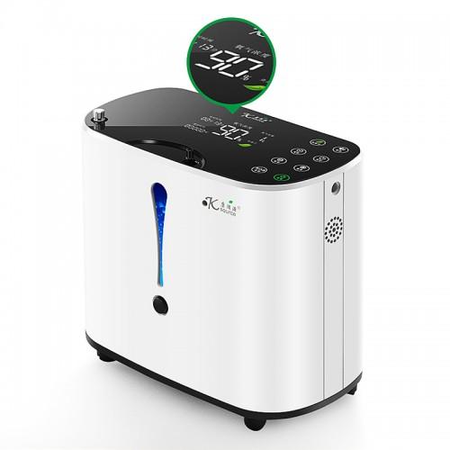 KSOURCE Pelvifine 110V/220V Oxygen Generator 1-6L/min Adjustable Portabl Oxygen Concentrator Machine Generator Air Purifier Home