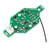 JJRC JR-NH01OR Boat Hull Receiver Circuit Board for H36F RC Vehicles Boat Model Spare Parts