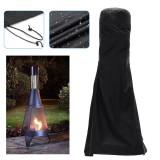 Outdoor Patio Heater Chimnea Cover Fire Pit BBQ Waterproof Dustproof Protector
