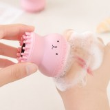 Silicone Face Cleansing Brush Facial Cleanser Pore Cleaner Exfoliator Face Scrub Washing Brush Skin Care Octopus Shape Beauty Machine