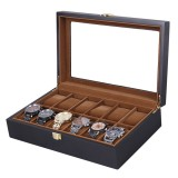 Bakeey 12 Slot Watch Box Watch Display Wood Jewelry Storage Organizer